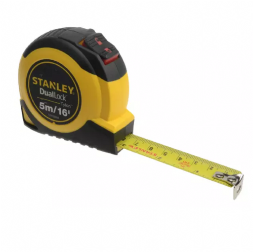 Stanley 036806 DualLock™ Tylon™ Pocket Tape 5m / 16ft (Width 19mm)